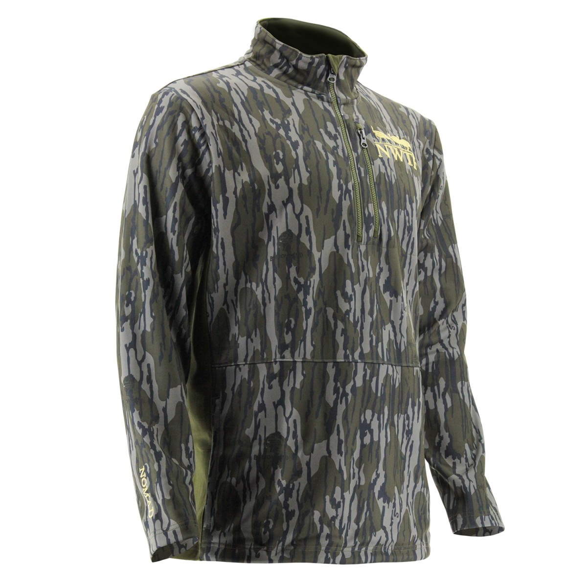nomad nwtf fleece 1 4 zip