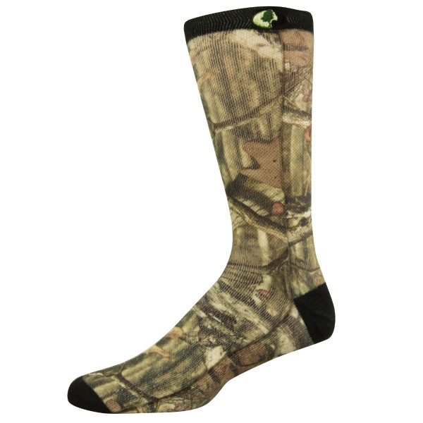 Mossy Oak Sublimated Crew Camo Sock