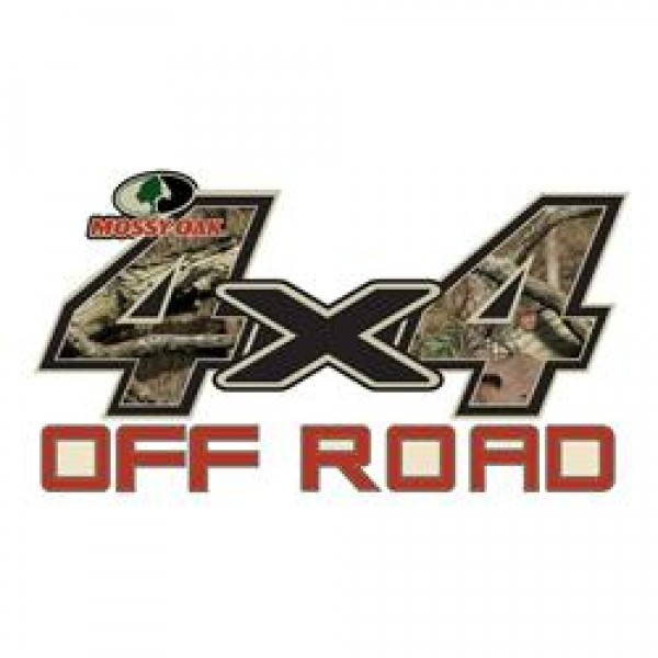 4x4 Off Road Decal (One) Large Infinity