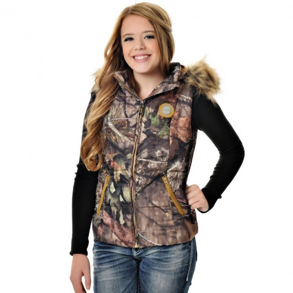 Girls with Guns Fur Trim Vest