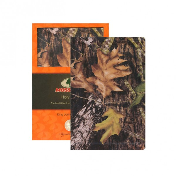 Mossy Oak KJV UltraSlim Leather Bible