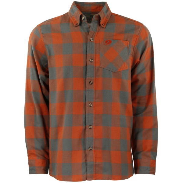 Orange Buffalo Plaid