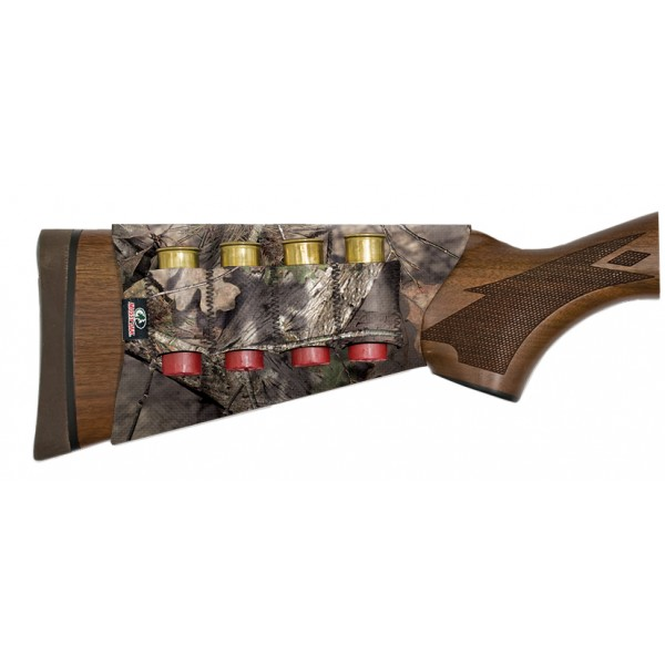 Mossy Oak Neoprene Shotgun Buttstock Shell Holder