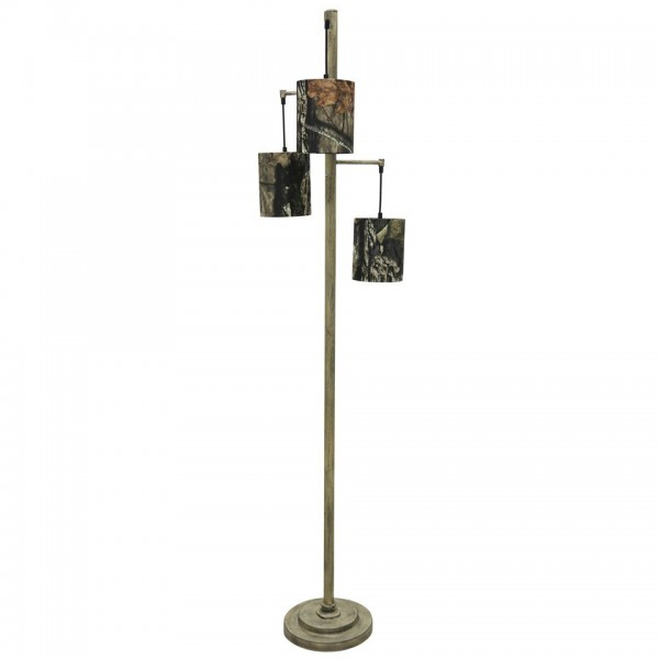 Mossy Oak Nativ Living 3 Tier Floor Lamp