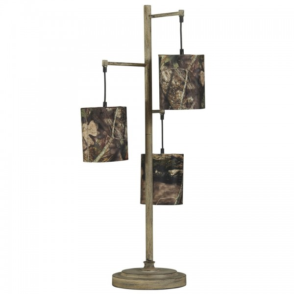 Mossy Oak Nativ Living 3 Tier Table Lamp