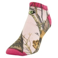 Mossy Oak Ladies' Sublimated No Show Sock