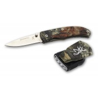 Browning Night Seeker Headlamp & Knife Combo