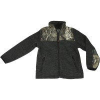 Mossy Oak Youth C-Max Fleece Jacket