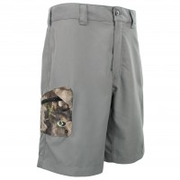 Mossy Oak Camo Accent Hybrid Shorts