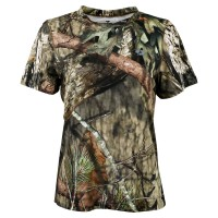 Mossy Oak Women's Short Sleeve Tech Hunt Tee
