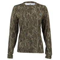 Mossy Oak Women's Long Sleeve Tech Hunt Tee