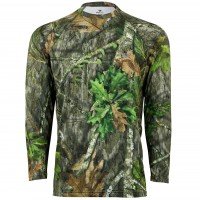Mossy Oak Men's Long Sleeve Coolcore Tee
