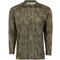 Mossy Oak Youth Long Sleeve Camo Hunt Tech Tee