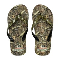 Team Beans Mossy Oak Unisex Big Flip Flop