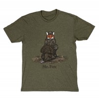 Mossy Oak Youth Mr. Fox Turkey Tee