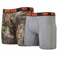 "Mossy Oak Cotton 6"" Boxer Brief 2pk"