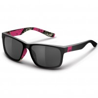Mossy Oak Wasatch Black/Raspberry Camo Sunglasses