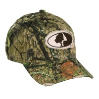 Mossy Oak Ladies' Frayed Logo Patch
