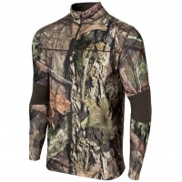 Terramar Men's Camo Quarter Zip