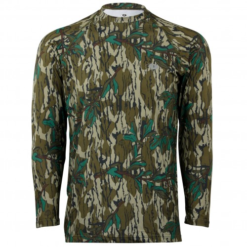 1f91e8be Mossy Oak Men's Long Sleeve Tech Hunt Tee
