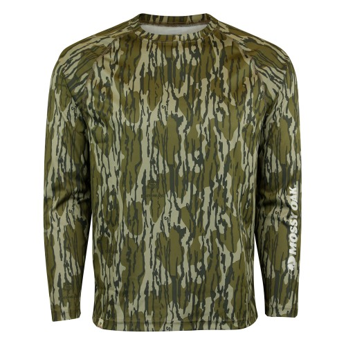 Mossy Oak Men's Long Sleeve Tech Hunt Tee
