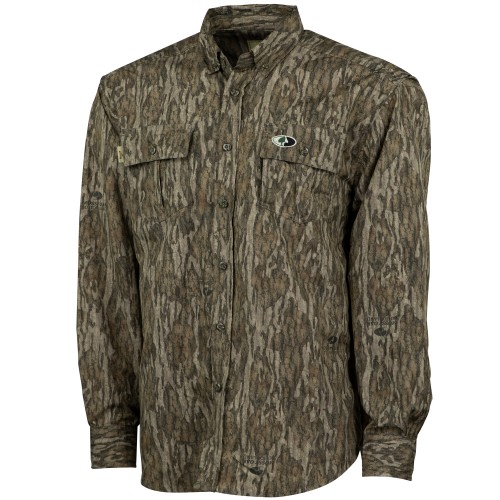 5a2f80ba30dbf Mossy Oak Tibbee Technical Hunt Shirt