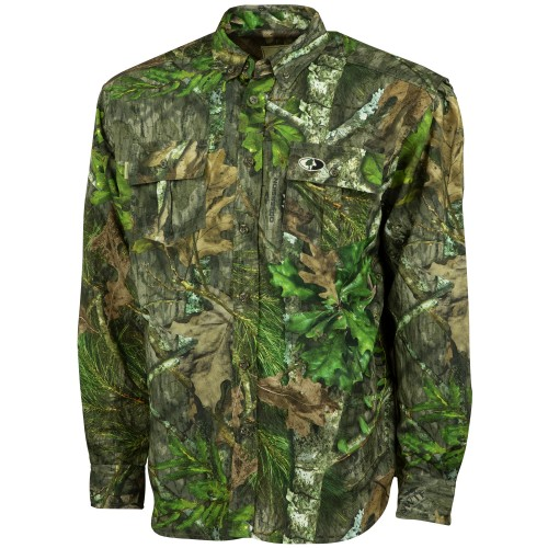 e012d817d4b4 Mossy Oak Tibbee Technical Hunt Shirt