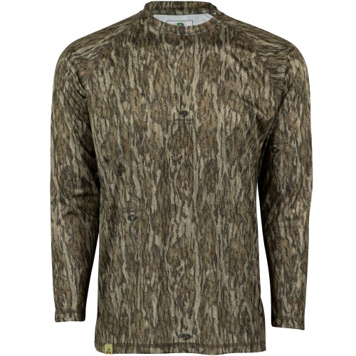 44d0eeee Mossy Oak Men's Long Sleeve Camo Hunt Tech Shirt