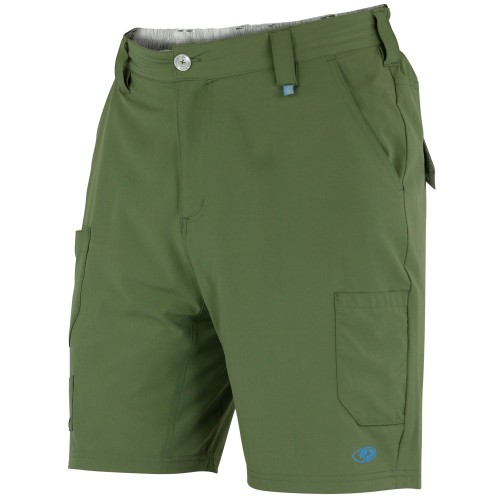 Mossy Oak Men's Flex Fishing Shorts