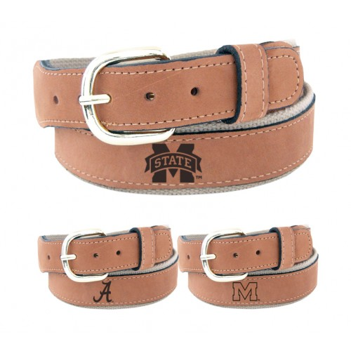 Zep-Pro Embossed Leather Belt Tan