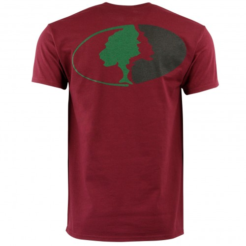 Mossy Oak Traditional Logo Tee - Maroon