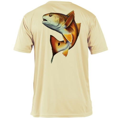 Pale Yellow/RedFish