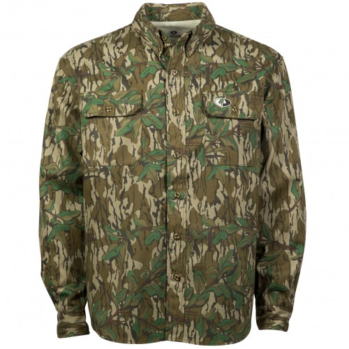 Mossy Oak Men's Cotton Mill Hunt Shirt