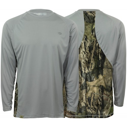 Mossy Oak Performance Long Sleeve Field Tech Tee
