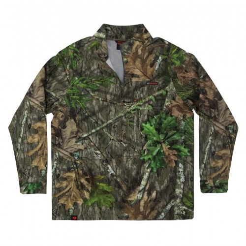 Mossy Oak Tibbee Flex Hunt 1/4 Zip