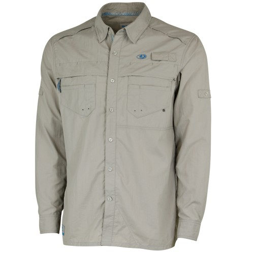 Mossy Oak Men's Long Sleeve Fishing Shirt