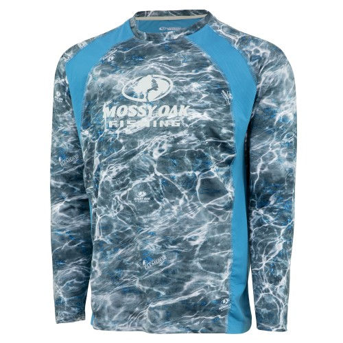 Mossy Oak Men's Long Sleeve Fishing Tech Tee