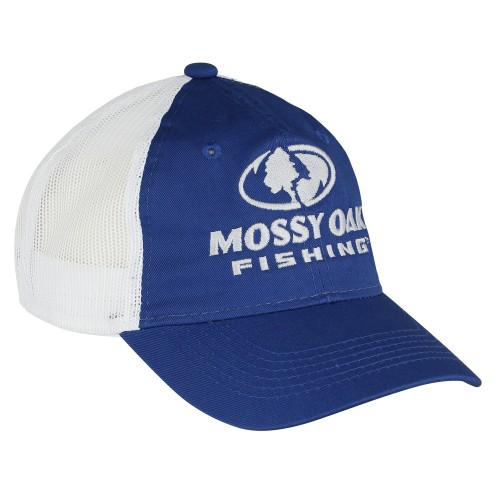 Mossy Oak Fishing Mesh Back Cap