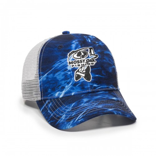 Mossy Oak Fishing Bass Logo Cap