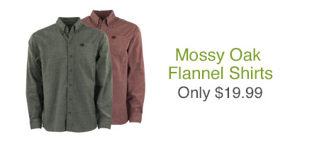 Mossy Oak Flannel Shirts