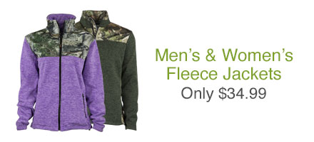 Casual Fleece Jackets Sale